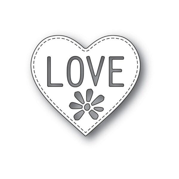Love Heart craft die