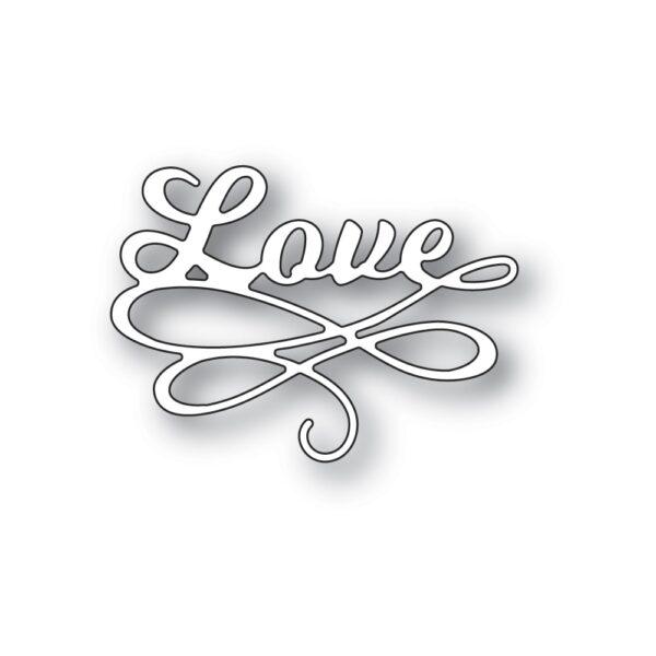 Love Flourish Craft die