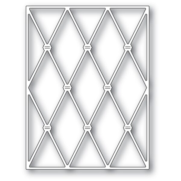 Knotted Diamond Background Die