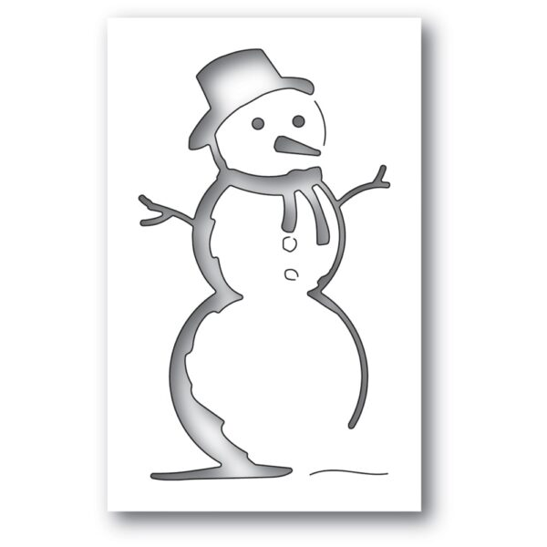 Charming Snowman Collage