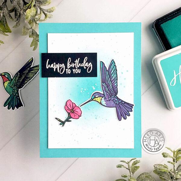 Color Layering Hummingbird