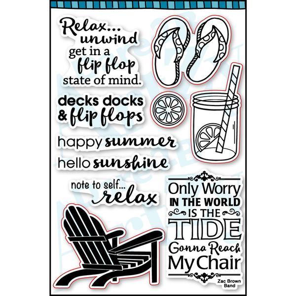 Flip Flops Stamp Set