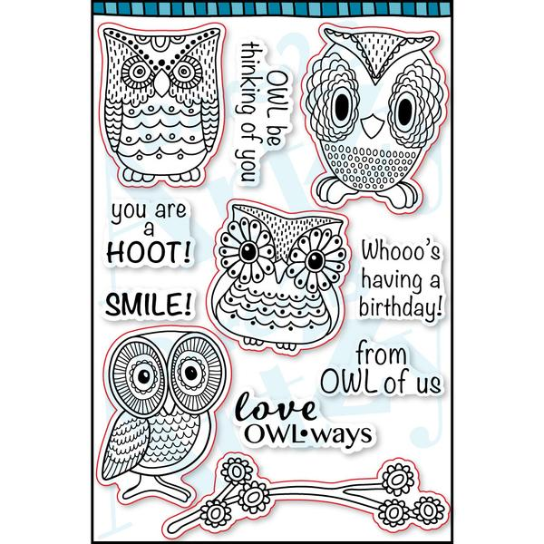 Hoot Hoot Stamp Set