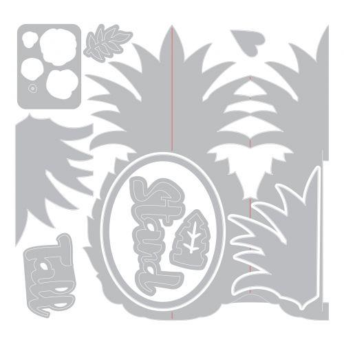 Pineapple fold-A-Long Card