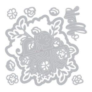 Floral Bunch Flip & Fold