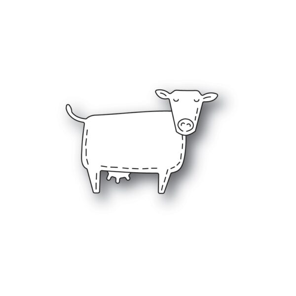 Whittle Cow Poppy Stamps