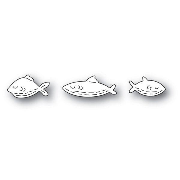 Whittle Fish Trio PoppyStamps