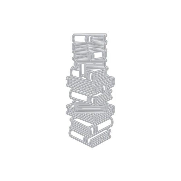 Stacked Books Die