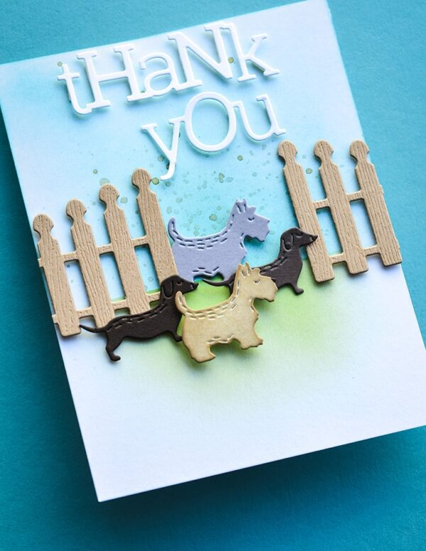 Playful Thank you Poppystamps